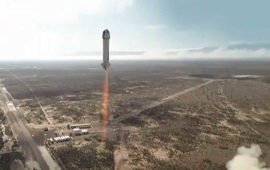 12-й тестовый полет суборбитального New Shepard — успешный [видео]