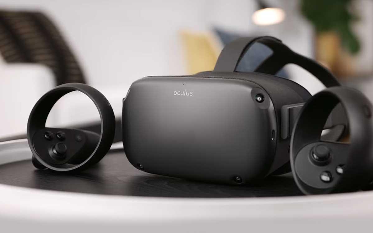 Шолом віртуальної реальності Oculus Quest