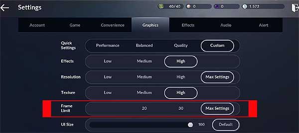 45 fps и 60 fps в Black Desert Mobile на Android: как обойти ограничение