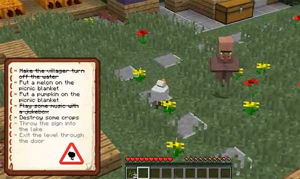 Мод по мотивам Untitled Goose в Minecraft: еще не гусь, но уже курица