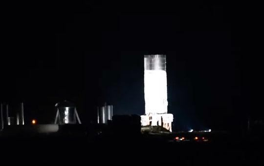 Взрыв Starship SN1 в ходе испытаний на полигоне Бока-Чика [видео]