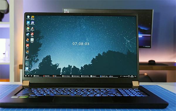 Геймерские ноутбуки с экраном 144Гц - MSI GS75 Stealth
