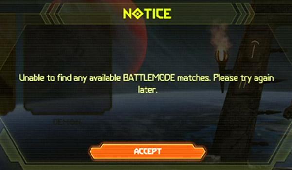 "проблемы Doom Eternal - ошибка ""Unable to find any Battlemode matches"""
