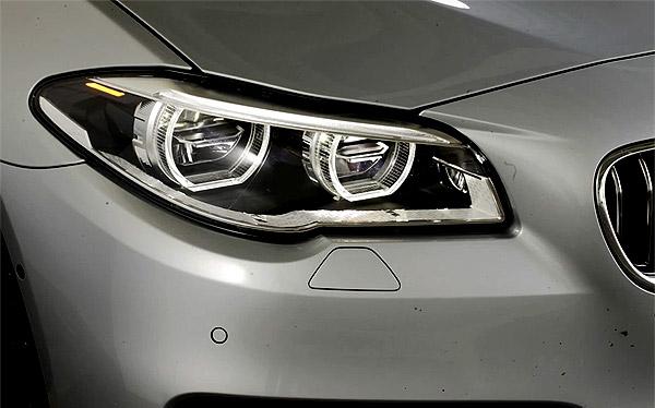 История автомобильных фар - адаптивная LED фара