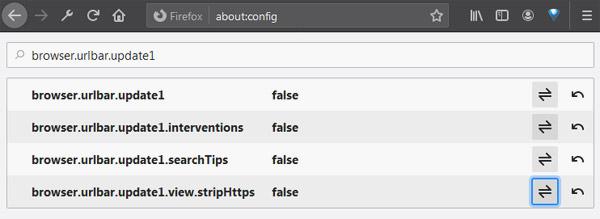 Новая адресная строка в Firefox: как сделать её старой