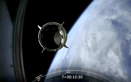 Пилотируемый Crew Dragon успешно вышел на орбиту