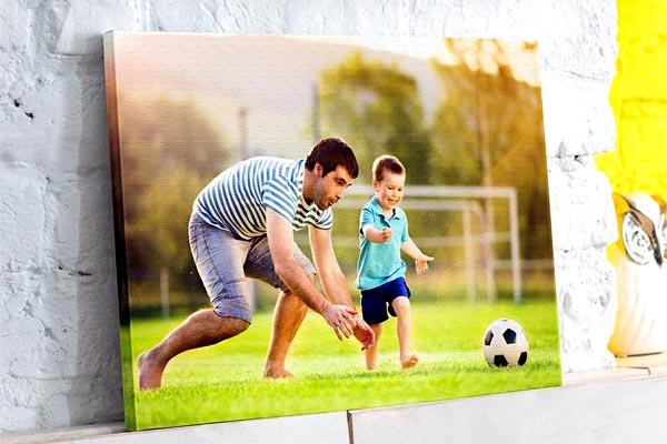 Фотки в подарок - где напечатать большой портрет