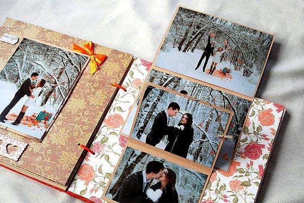 Фотки в подарок - где напечатать свадебный альбом
