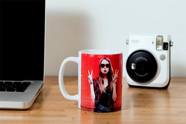 Фотки в подарок на чашке