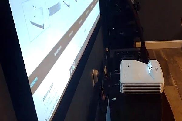 Лазерные проекторы Optoma - установка и регулировка наклона