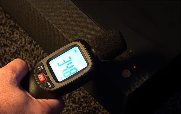 Преимущества лазерных проекторов Optoma - температура