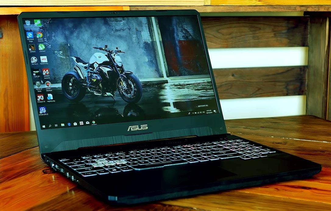 Топ 3 игровых ноутбука до 25 000 грн - Asus TUF Gaming FX505DT