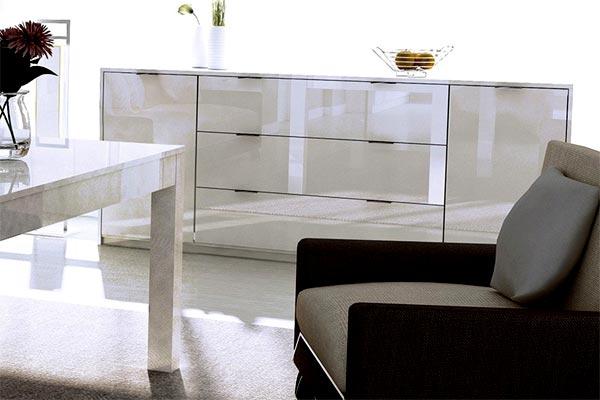 Комод для гостиной - почему белый и как выбрать?