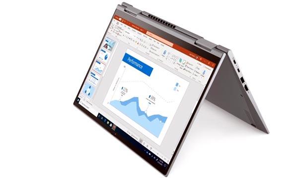 Тонкий и легкий ноутбук для работы - 2021 - Lenovo ThinkPad X1 Titanium Yoga