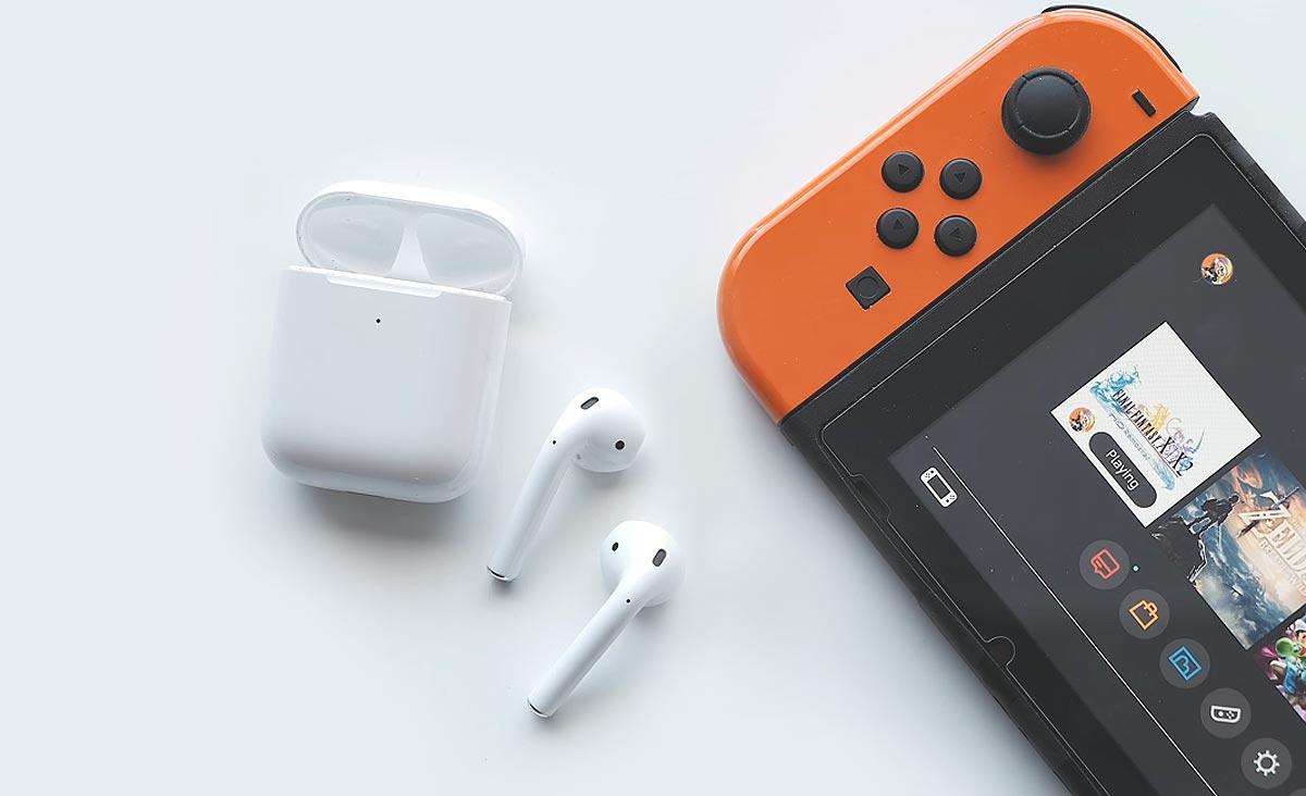 Как подключить к Nintendo Switch Airpods и еще кучу всего