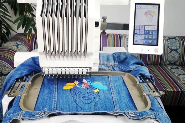 Современные вышивальные машины - преимущества