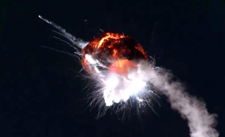 Аварийный запуск частной РН Firefly Alpha [видео]
