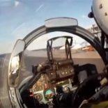 Полеты Су-33 с палубы ТАВКР «Адмирала Кузнецова» [видео]