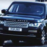 Range Rover Sentinel: говорят, 15 кг тротила выдерживает … [видео]