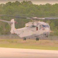 CH-53K King Stallion — первый испытательный полет [видео]