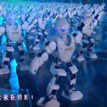 Весенний танец 540 роботов: Новый год с китайским размахом [видео]