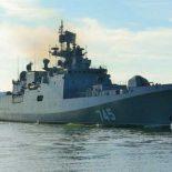 Фрегат «Адмирал Григорович» официально передан Флоту [видео]