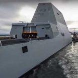 USS Zumwalt завершил заводские испытания [видео]