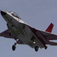 В Японии впервые подняли в воздух прототип истребителя пятого поколения [видео]