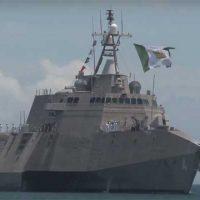 USS Coronado на RIMPAC вышел с новыми установками RGM-84D Harpoon Block 1C [видео]