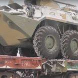 Мотострелковая бригада ЦВО получила более 40 новых БТР-82А [видео]
