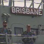 HMAS Brisbane: второй эсминец класса Hobart спущен на воду в Австралии [видео]