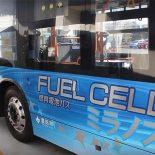 В Токио на маршрут вышел первый Toyota Miranos — автобус на водородных элементах [видео]