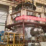 Китай успешно провел гидравлические испытания корпуса нового реактора CAP1400