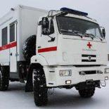 """""""Скорая"""" на шасси КамАЗ-43502 проходит испытания в условиях ДВ"""