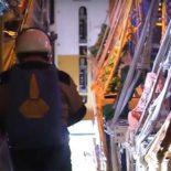 Доставка груза ИЛ-76 ВКС на дрейфующую полярную станцию Барнео [видео]