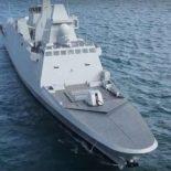 Концерн DCNS передал ВМС Франции фрегат Auvergne проекта FREMM [видео]