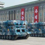 """На параде в Пхеньяне """"обнаружились"""" новые мобильные береговые ПКР [видео]"""
