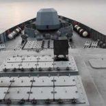 Фрегат «Адмирал Горшков» провел стрельбы крылатыми ракетами