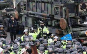 Военные США приступили к установке комплекса ПРО THAAD в южнокорейской провинции