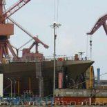 Строительство новых мега-эсминцев Type 055 идет полным ходом [фото]
