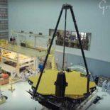 """Телескоп """"Джеймс Уэбб"""" тестируют в Центре имени Годдарда [видео]"""