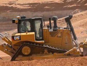 Caterpilllar представила обновленный Cat D8R [видео]