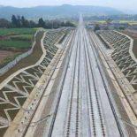Очередной участок ЖД-магистрали Сиань-Чэнду подготовлен к испытаниям