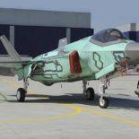 Выкатка первого F-35B made in Italy [видео]
