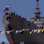 Спущен на воду второй разведывательный корабль проекта 18280 [видео]