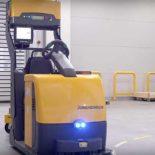 Автоматический электротягач EZS 350a от Jungheinrich [видео]