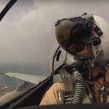 Истребители ВВС Японии и бомбардировщики США провели учебные полеты у острова Кюсю