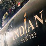 В США спустили на воду SSN-789 Indiana 16-ю АПЛ класса Virginia
