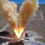 Испытание двигателя системы спасения астронавтов корабля Orion [видео]