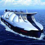Kawasaki продемонстрировала проект водородного танкера [видео]